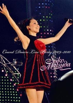 松田聖子 Seiko Matsuda Count Down Live Party 2009-2010 (日版DVD)全新