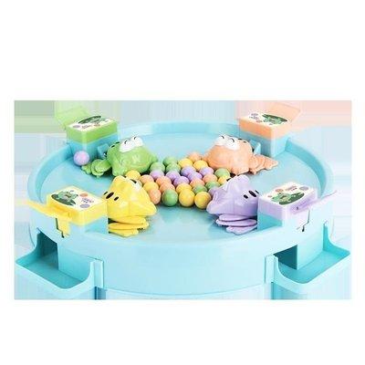 親子遊戲 貝恩施青蛙吃豆玩具 趣味親子互動游戲桌面兒童益智類