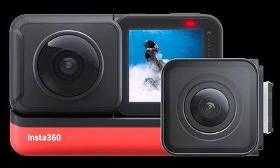 全新 insta360 one R 雙鏡套裝 4k廣角及360全景運動相機 行貨