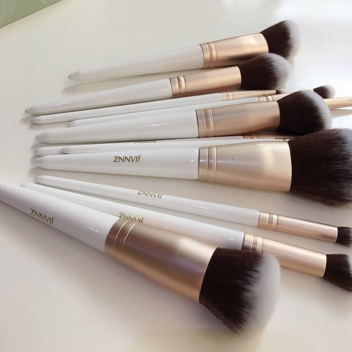初學者索佑化妝刷套裝12支套刷散粉刷 眼影刷 簡斯化妝刷工具 一件免運