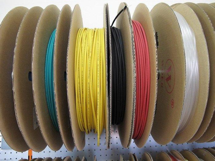 【ToolBox】國際大廠《Φ1mm彩色x200公尺》熱收縮套管/絕緣管/熱縮膜/熱縮管/熱縮套/防電套/熱縮膜/收縮膜