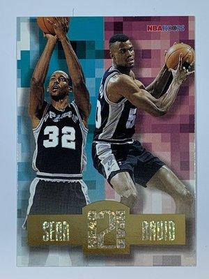 1996-97 SkyBox NBA Hoops Head To Head Elliott David Robinson
