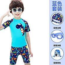 [舒漫]2003泳衣兒童泳衣泳褲潛水衣連身泳衣生男生42寶寶泳衣
