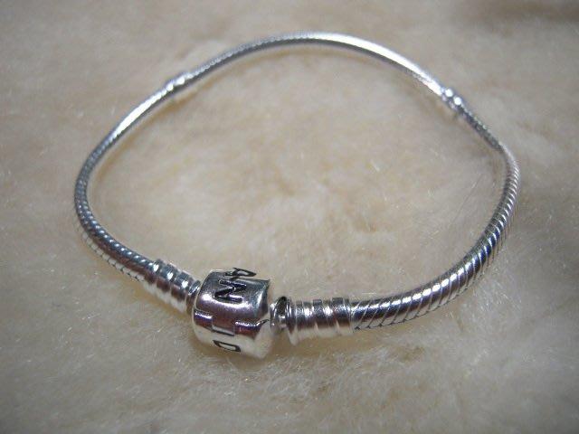 ※水晶玫瑰※ 925純銀PANDORA手鏈(RD105A)