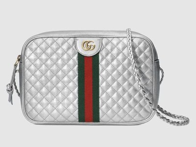 **Ohya精品代購** 2018 全新代購 Gucci 古馳Laminated leather small bag 541051