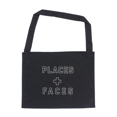 Places + Faces Outline 3M Logo Tote Bag 托特包 肩背包 黑色現貨【BoXhit】