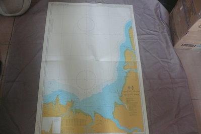 藍色小館46-1-DEPTHS IN METRES航海圖-TANJUNG SIPANG TO TANJUNG SIRIK