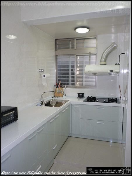 【雅格廚櫃】工廠直營~L型廚櫃、流理台、廚具、結晶鋼烤、林內RB-27GF玻璃雙口檯面爐
