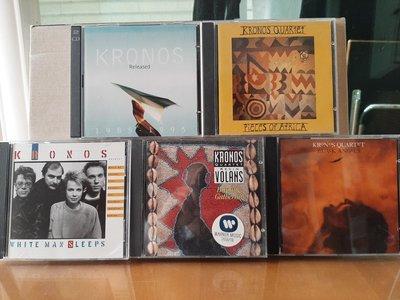 KRONOS QUARTET ~ IN FORMATION等4張專輯CD+1張合輯(2cd)。
