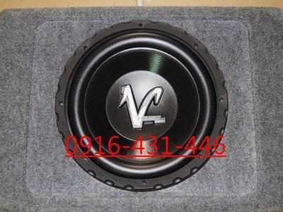 知名品牌 EVE 雙磁雙音圈 被動式 12吋 重低音喇叭含音箱+擴大機