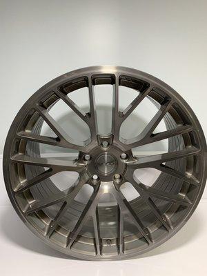 CR輪業 全新 ASGA ARF08 旋壓輕量化 19吋鋁圈 透明灰髮絲 完工價:9000 5/112 5/114