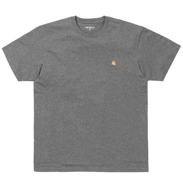 【A-KAY0】CARHARTT WIP 男女 CHASE TEE GREY 短T 灰【I026391-ZM90】