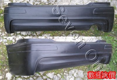 ☆ SEVEN ONE ☆ LEXUS IS200 H版 後保桿 99-05年(空力套件)