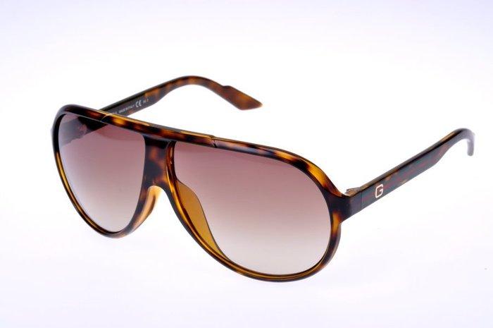 ☆鏡典眼鏡☆正品 GUCCI 太陽眼鏡~復古雷朋型大墨鏡~亞洲版鼻墊加高.超輕好戴~579玳瑁