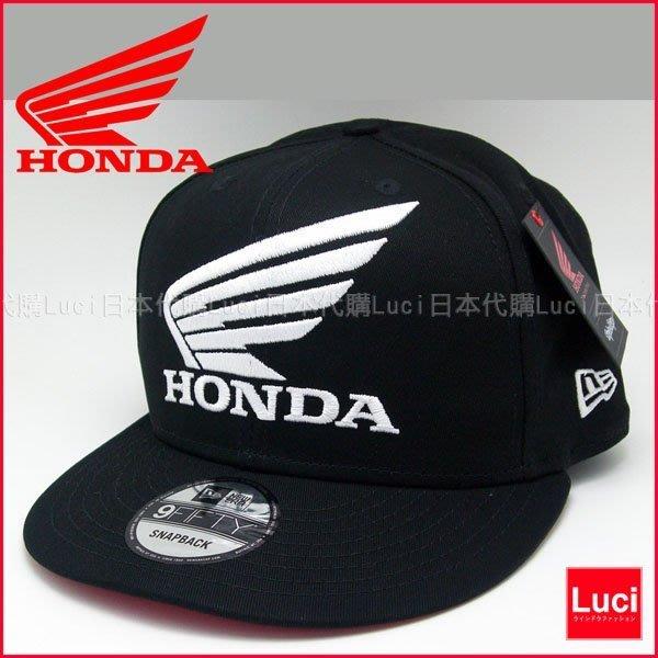 HONDA NEWERA cap 重機帽 老帽 棒球帽 小帽 LOGO 滑板帽  LUCI日本代購空運