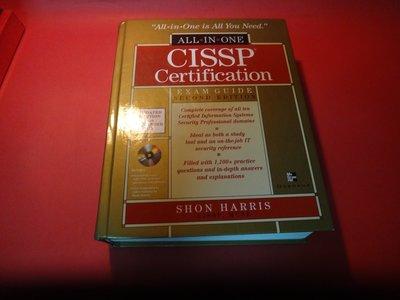 【愛悅二手書坊 21-25】CISSP Certification all-in-one