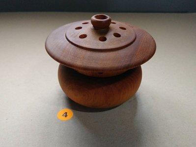 簡單Simple。現貨。4號天然正宗台灣三峽山材梢楠~~重油重香~.聞香~~香爐-熏香-爐插-香具-香器-盤香-爐塔