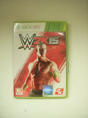 XBOX360 WWE 2k15 激爆職業摔角 英文版 新北市