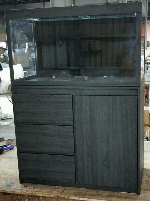 [J&D魚缸大賣場]3尺缸+木心板架[各式魚缸木架電燈訂製全省配送]