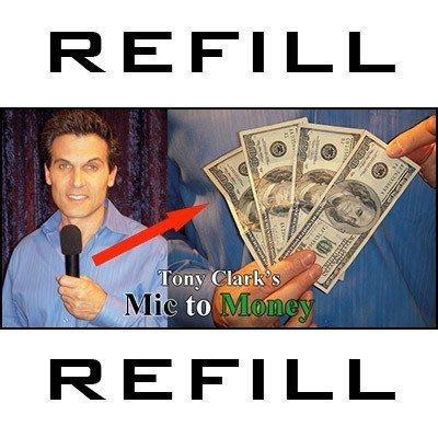 【意凡魔術小舖】Mic to Money Mira麥克風變鈔票(麥克風變錢)(附1000元鈔票道具)(獨家表演心得教學)