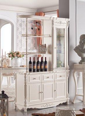 [紅蘋果傢俱] LM1132 歐式美式系列 間廳櫃 儲物櫃 數千坪展示