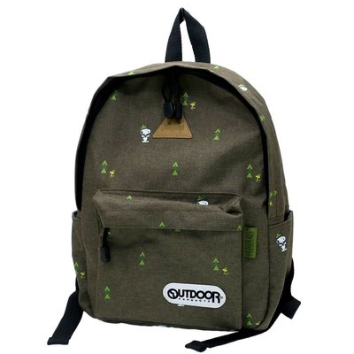 Outdoor x Snoopy backpack 背包 日本原裝正品
