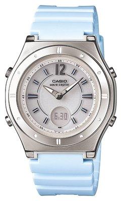 日本正版 CASIO 卡西歐 WAVECEPTOR LWA-M142-2AJF 電波錶 女錶 太陽能充電 日本代購