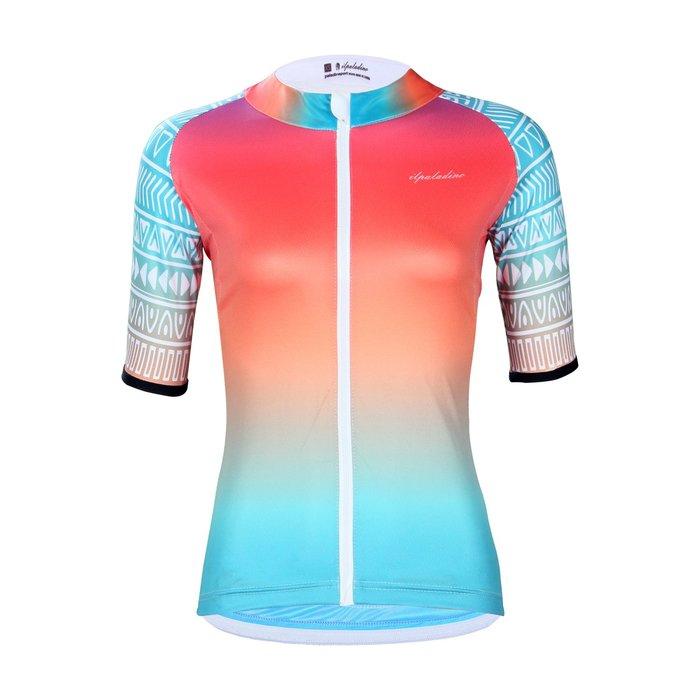 【ILPALADINO】競技型女士短袖車衣 :: 粉妝玉琢
