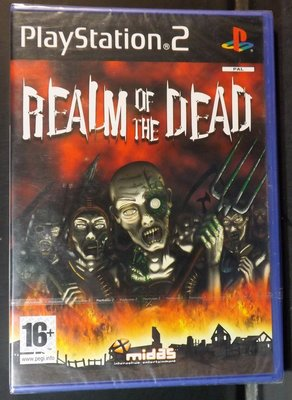 PlayStation 2-REALM OF THE DEAD~新品~10HL04~