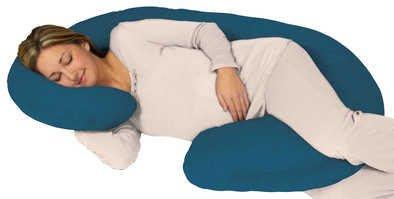【現貨】美國代購 Snoogle Leachco Teal 土耳其藍 孕婦專用抱枕托腹枕的枕套 1500含運