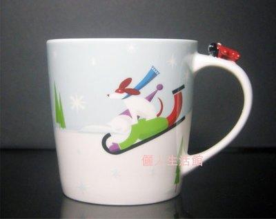 儷人館 ~ 2011 星巴克馬克杯 STARBUCKS 馬克杯 2011年耶誕 飛機馬克杯 8oz  超取 面交 郵票