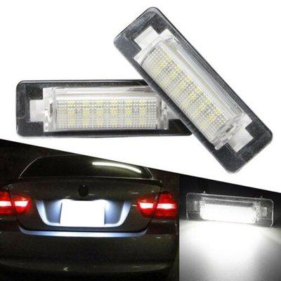 奔馳W210專用LED車牌燈BENZ牌照燈E-Class W210 C-Class W202 E級C級車燈改裝 好再來O