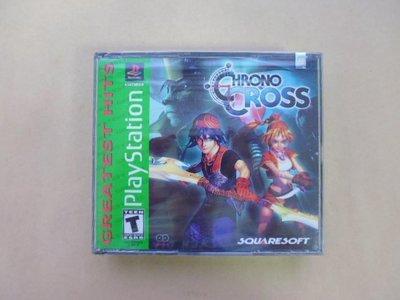明星錄*2000年美國版.CHRONO CROSS(2片裝.遊戲光碟)全新未拆(k392)