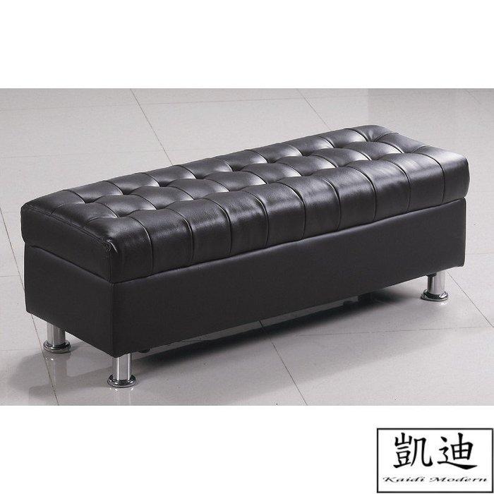 【凱迪家具】M3-188-1 庫倫120 深咖啡皮沙發椅凳/桃園以北市區滿五千元免運費/可刷卡