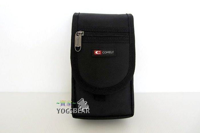 【YOGSBEAR】可置5.5吋手機 直立式 手機包 美髮袋 腰包 手機袋 工具包 護照包 掛包 9070