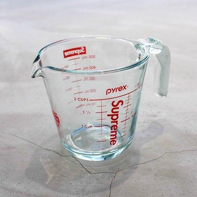 【車庫服飾】SUPREME 2019FW PYREX 2-CUP MEASIRING CUP 手持玻璃量杯