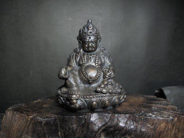 小銅雕 ◎ 西藏 財寶天王