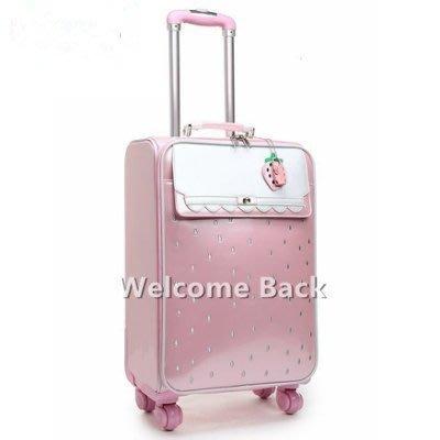 拉桿箱萬向輪卡通旅行箱20寸女學生行李箱密碼登機箱