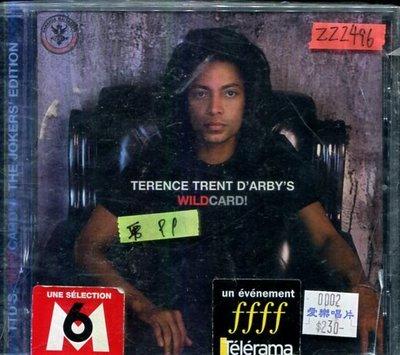 *還有唱片三館* TERENCE TRENT D'ARBY'S / WILD CARD 全新 ZZ2496(需競標)