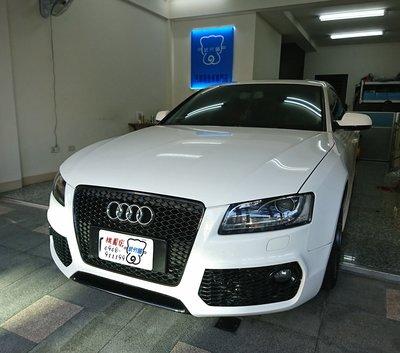 Audi A5-A柱+B柱+C柱+四車門下方+尾門左右側+後擋雨切 汽車隔音條 套裝組【武分舖-桃園店】