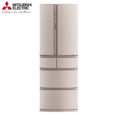 MITSUBISHI三菱 513公升 變頻六門電冰箱 MR-RX51E-F-C  (絹絲杏)  日本原裝