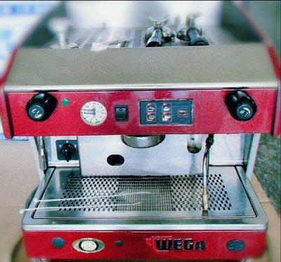 《使用中》義大利 WEGA 義式單孔半自動咖啡機。升級換機隨便賣