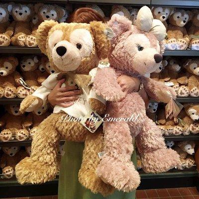 預購 上海迪士尼樂園🐻達菲熊 duffy 雪莉玫 shelliemay M號 玩偶 娃娃