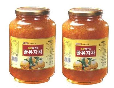 高麗購◎正友韓國蜂蜜柚子茶2公斤營業用X2