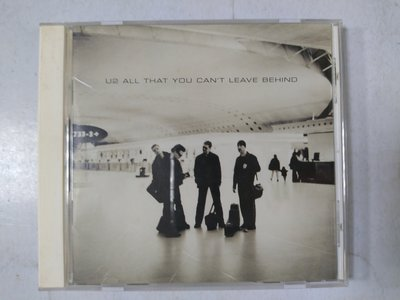 昀嫣音樂(CD32)  U2 ALL THAT YOU CAN'T LEAVE BEHIND 2000年 片況良好