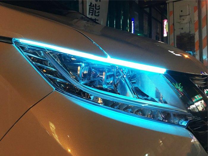 綠能基地㊣導光條 燈條 LED燈條 車底燈 正發光 迎賓燈 燈眉 氣氛燈 氣壩燈 車廂燈 3528燈條 導光條 微笑燈