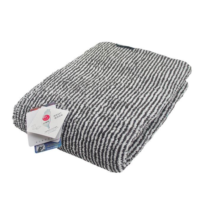 MORINO摩力諾-抗菌防臭超細纖維竹炭浴巾(超值2條組)免運