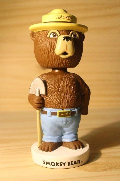(I LOVE樂多)美國進口smokey bear funko 斯莫基熊 搖頭公仔 商品稀少值得珍藏