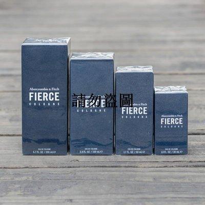 高街潮品 美國Abercrombie Fitch 經典af裸男古龍水招牌香水FIERCE COLOGNE