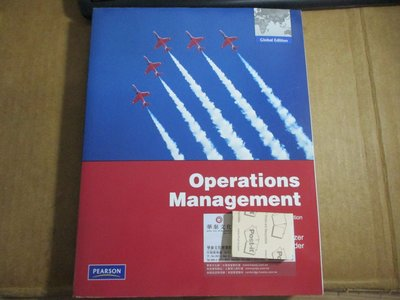 Operations Management Tenth Addition:9780273755951/2011
